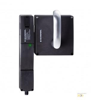 Schmersal Actuador con manija para puerta con bisagras a la derecha AZ/AZM201-B30-RTAG1P1-SZ - AZM 201 Dispositivo de enclava...