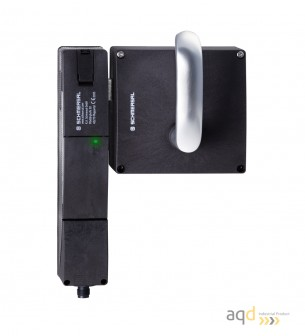 Schmersal Actuador con manija para puerta con bisagras a la izquierda AZ/AZM201-B30-LTAG1P1-SZ - Schmersal Dispositivo de enc...